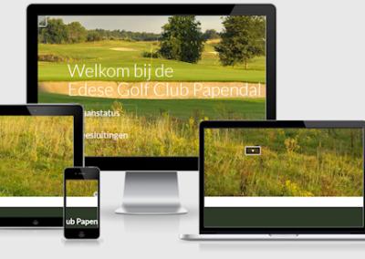Website Edese GC Papendal